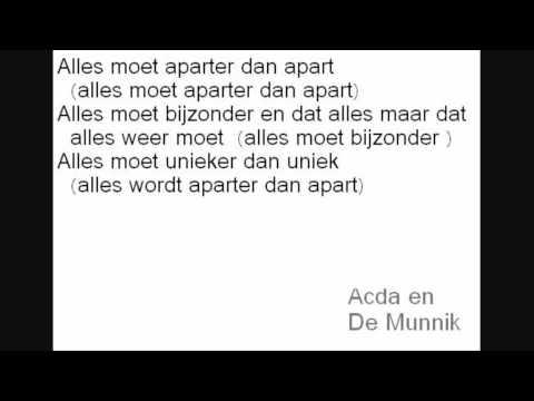 Acda En De Munnik - De Beatles En De Buren