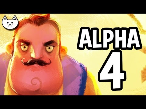 Hello Neighbor ALPHA 4 Gameplay LIVE - (Hello Neighbor Game Alpha 4 Livestream)