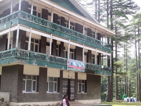Youth Hostel At Patnitop, Jammu and Kashmir, India HD Video