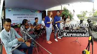 SEWU KUTO (COVER) - KERONCONG KURMUNADI LIVE @KANTOR PDAM SURABAYA