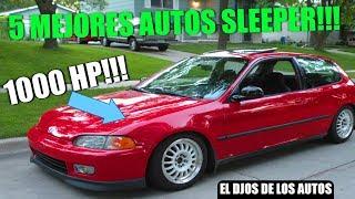 5 MEJORES AUTOS SLEEPER DEL MUNDO