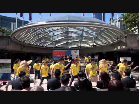 Taiwan Tourism Dance to Wu Bai