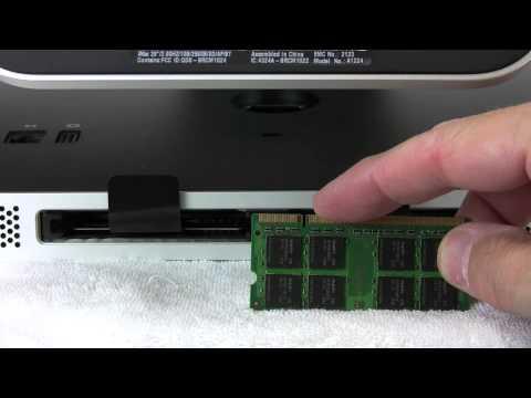 iMac (2007-2009) Memory Installation Video