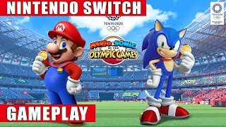 Mario & Sonic at the Olympic Games Tokyo 2020 Nintendo Switch Gameplay
