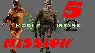Call of Duty Modern Warfare 2 Gameplay Walkthrough | Mission 5 | Takedown