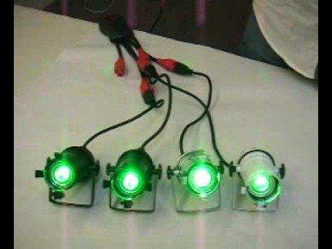 Par 16 With Led Light Bulbs Youtube