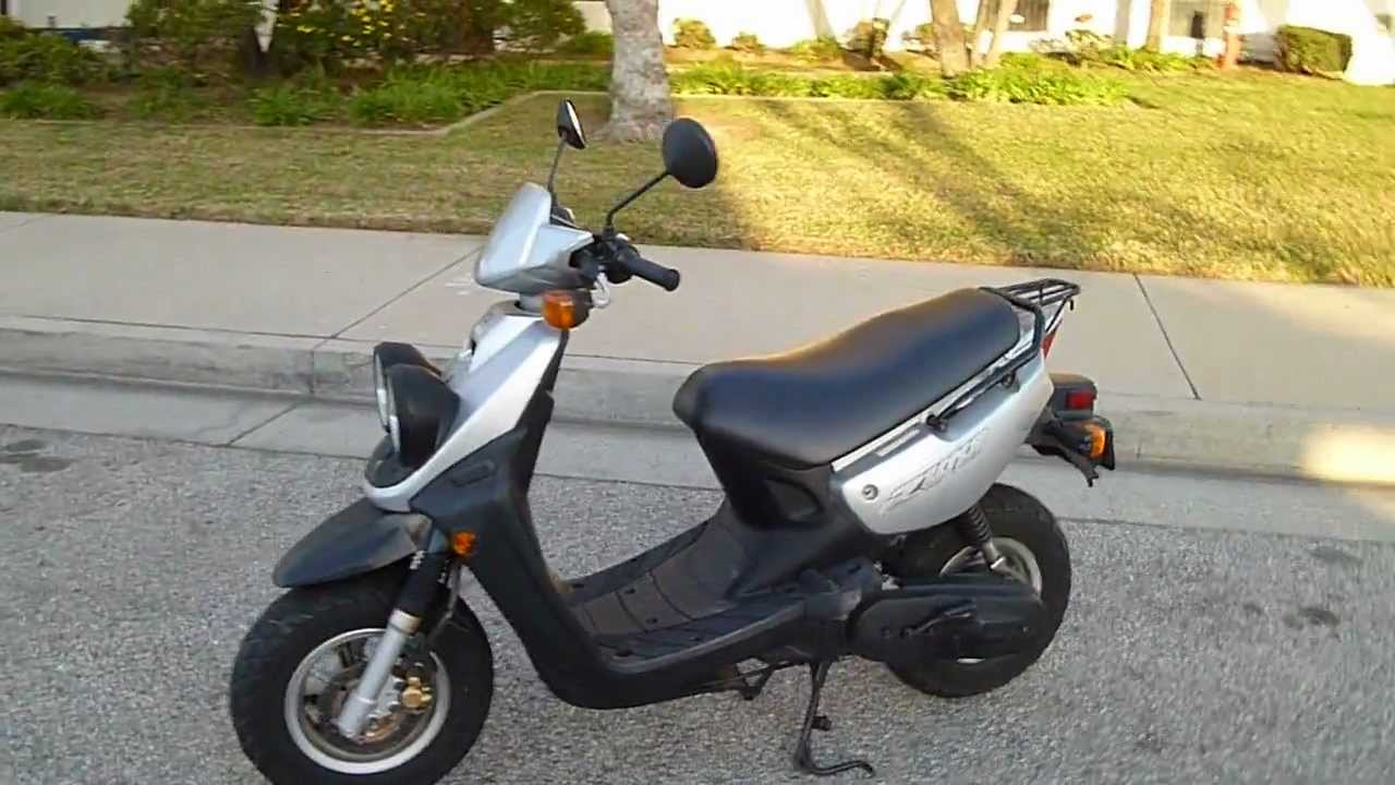2003 yamaha zuma 50 scooter youtube. Black Bedroom Furniture Sets. Home Design Ideas