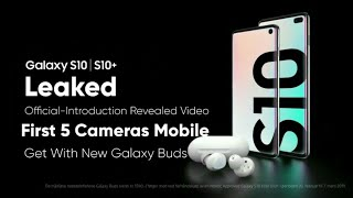 Samsung Galaxy S10 | S10+ Official Leaked Introduction Revealed Video