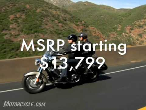 2009 Kawasaki Vulcan 1700/LT Motorcycle Review Video