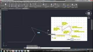 Drawing Lines In Autocad Using Coordinates : Technical drawing with autocad channel viyoutube