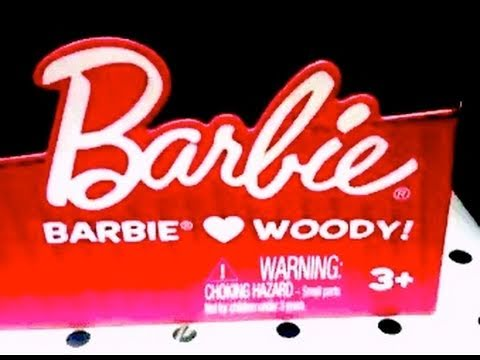 Barbie Loves Woody?  Toy Story 3 Toys! OMG! Win or FAIL? By Mike Mozart @JeepersMedia