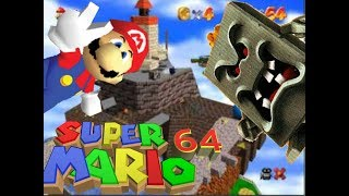 Super Mario 64 lp #3//Whomp king and the top of the tower