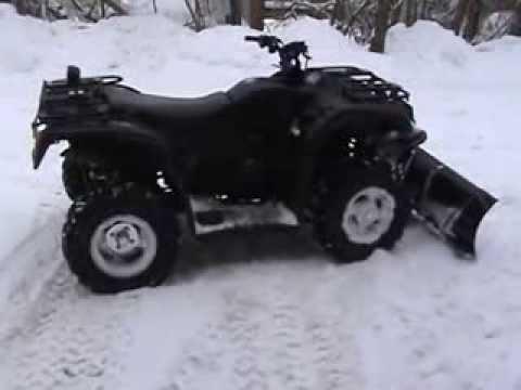 HiSun HS500 Plowing Snow