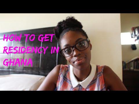 How To Get Residency In Ghana