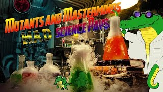 Mutants and Masterminds: Mad Science Pays - Issue 2 Part 2 - How does combat work?
