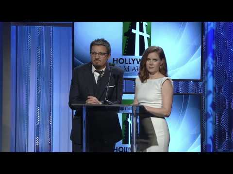 Amy Adams, Jeremy Renner Present Hollywood Costume and Production Design Award - HFA 2013
