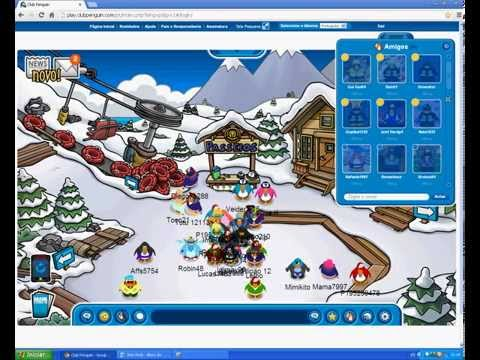 Como ter famosos do Club Penguin como amigos