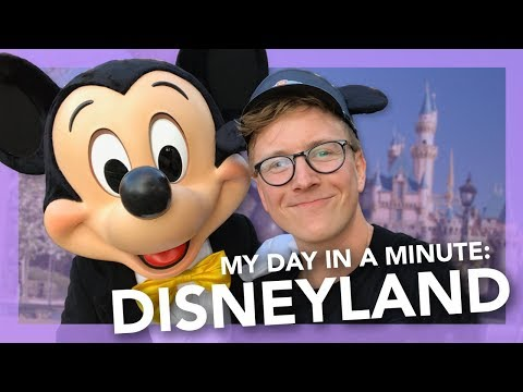 My Day In A Minute: Disneyland | Tyler Oakley