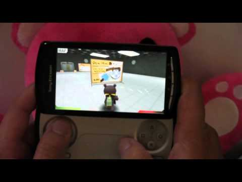 Xperia PLAY tutorial for BATTLE BEARS -1