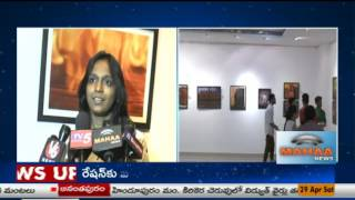 Hamstech Institute Students  Art Exhibition At Art Gallery|Madhapur|Hyderabad|Mahaa News