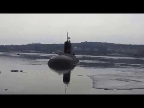 звуки сигнала подводной лодки