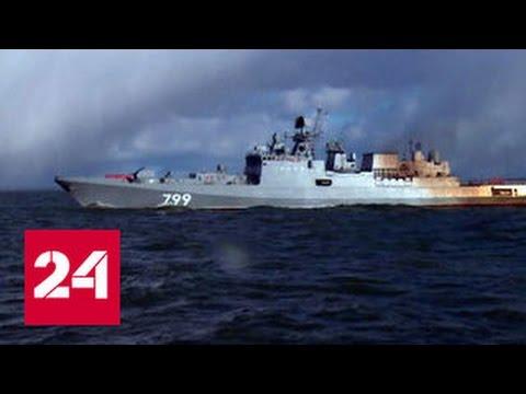 На Балтике успешно испытали сторожевик Адмирал Макаров