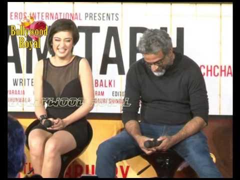 Amitabh, Dhanush & Akshara At Triailer Launch Of 'shamitabh'  1 video