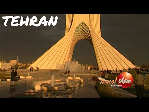 Iran - Tehran rimmed by magnificent mountains and ski slopes