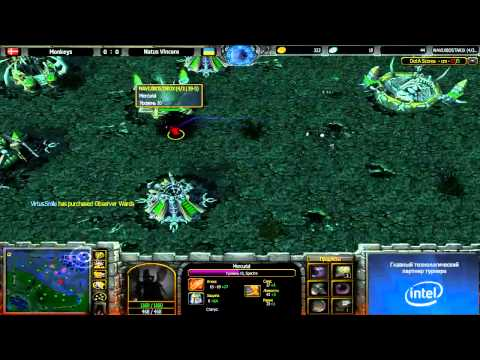 Monkeys vs Navi @ ICS9 GroupStage 3 Game 1