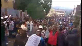 Ethiopia Gonder  Protests 05 08 2016