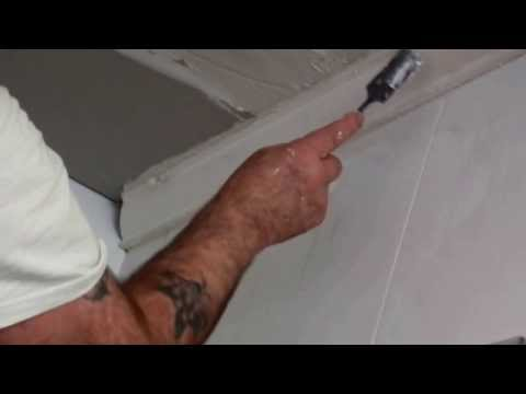 Plastering Cornice Installation in Bathroom