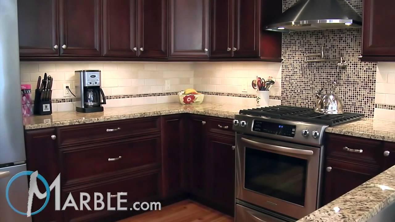 Giallo Ornamental Granite Kitchen Countertops Iii By