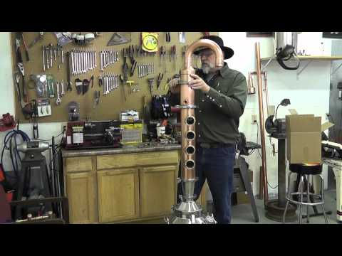 Moonshine still Hillbiily Flute assembly 2012