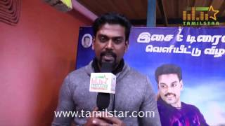 Saran At Muthukumar Wanted Audio & Trailer Launch