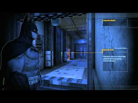 Batman Arkham Asylum (PS3) - 054, Main Cell Block, Guard Room