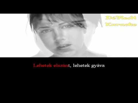 Tóth Gabi - Ez Vagyok én (Magyar Karaoke)