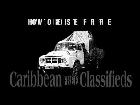 Caribbean Classifieds = Caribbean FREE Ads - HOW TO REGISTER?