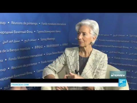 Markus Karlsson interviews Christine Lagarde, International Monetary Fund (IMF)