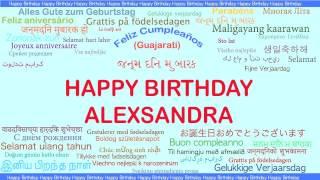 Alexsandra   Languages Idiomas - Happy Birthday