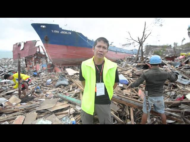 Surviving Typhoon Haiyan (Ruth and Eugene Ramirez)