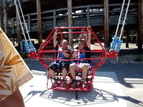 Tomi & Jerry on the Sling Shot @ Mount Olympics.