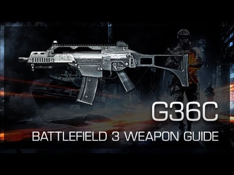 G36C : Battlefield 3 Weapon Guide, Gameplay & Gun Review