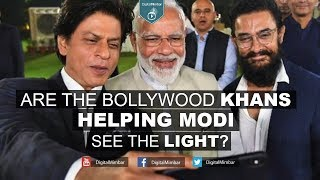 Are the Bollywood Khans Helping Modi see the LIGHT on Kashmir?