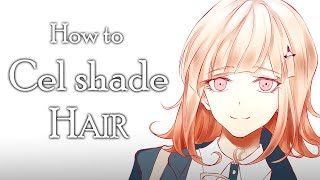 How to Cell-shade Hair [Voice-over Tutorial]