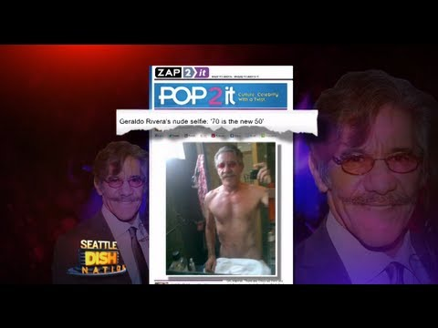 Geraldo Rivera Tweets Almost Nude Selfie!