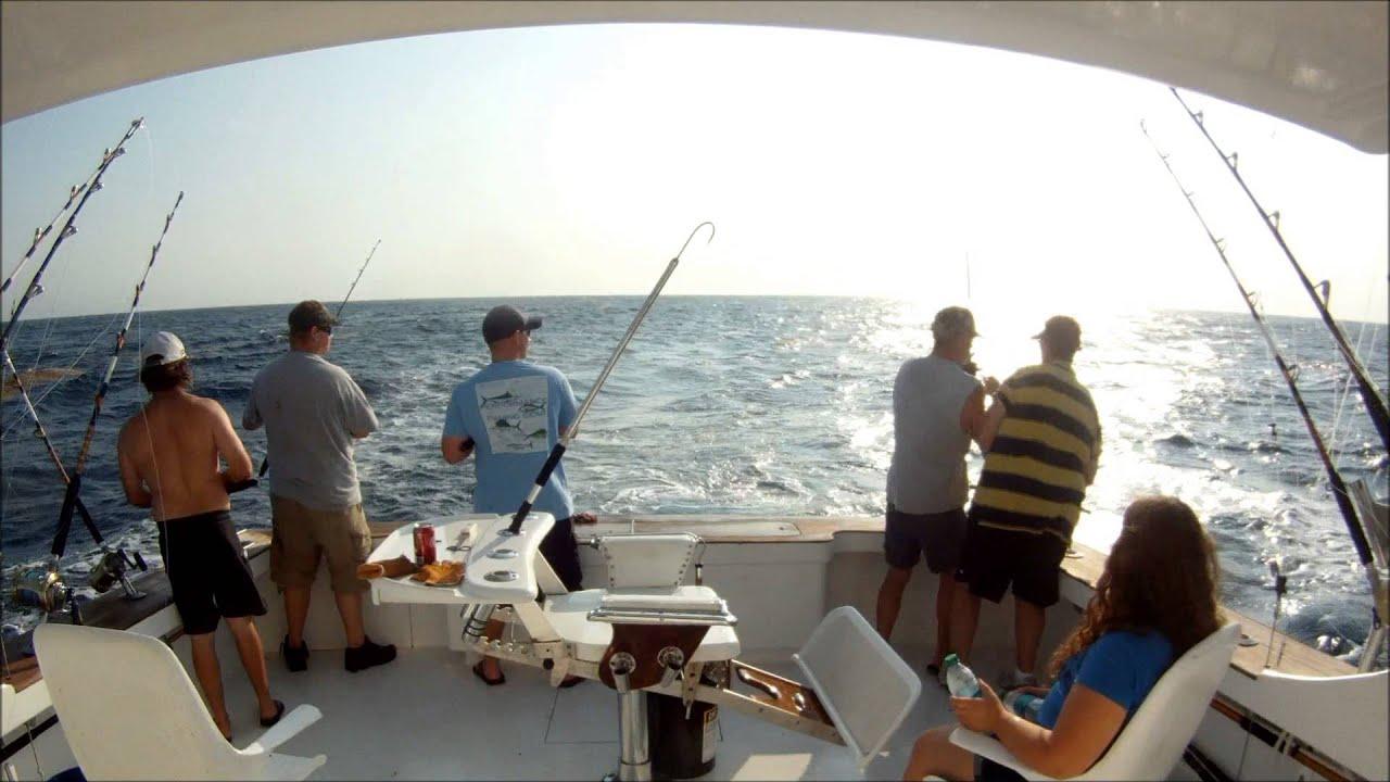 Outer banks dolphin and yellowfin tuna fishing fishing cave for Tuna fishing north carolina