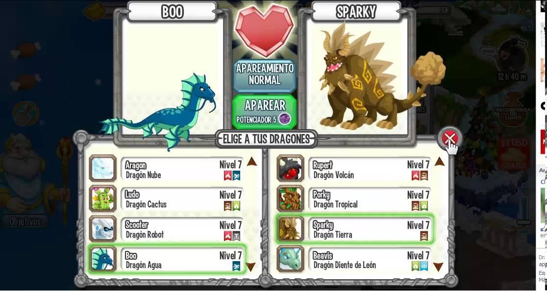 Dragon city como sacar al Dragon volcan y al Dragon Barro - YouTube