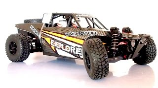 RC Extreme Pictures — Review Buggy KING MOTOR EXPLORER Scale 1/8 RC Truck 4WD RTR — RC Car Off Road
