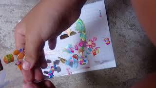 Đồ chơi trẻ em dán hình các cô người mẫu