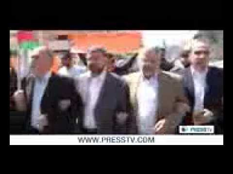 Daily English News - Palestinians protest Obama's visit to Palestine